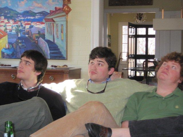 Heathcote brothers Christmas 2011