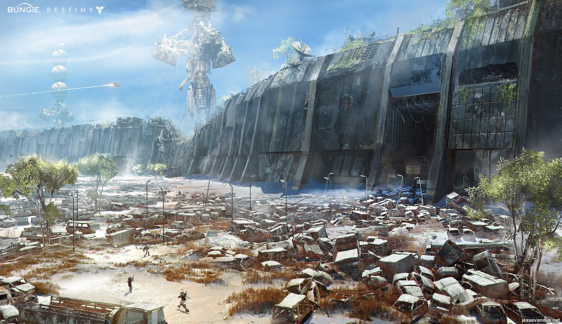 Destiny Earth Russian Cosmodrome wall concept art.jpg