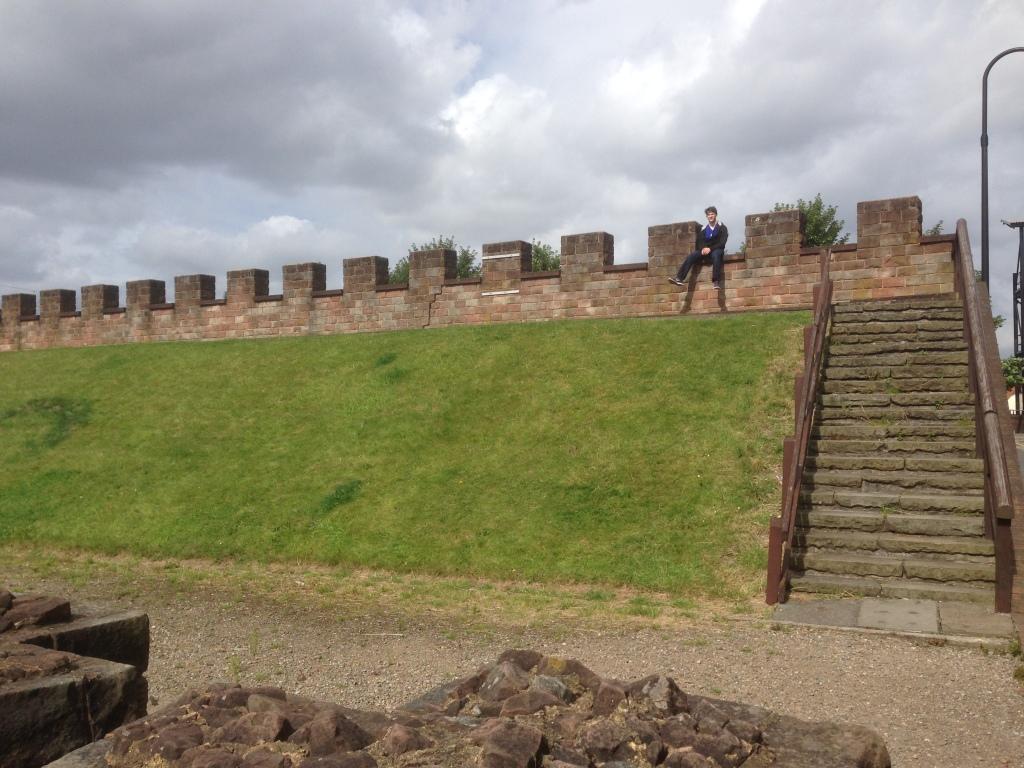 Manchester ruins wall